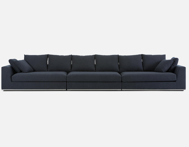 Best Dark Blue Modular Sectional Sofa Structube Horizon 400 x 300