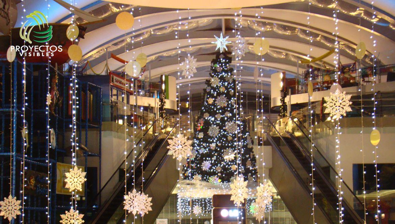 Rboles de navidad para centros comerciales dise o for Arboles de decoracion