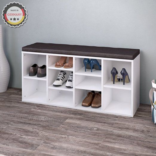 schuhschrank schuhregal schuhbank schrank bank regal 10. Black Bedroom Furniture Sets. Home Design Ideas