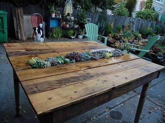 Outdoor Möbel Aus Holz Paletten DIY