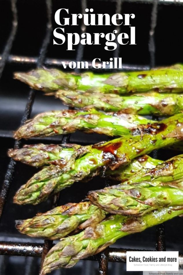 Gegrillter Spargel mit Balsamico Marinade - Cakes, Cookies and more