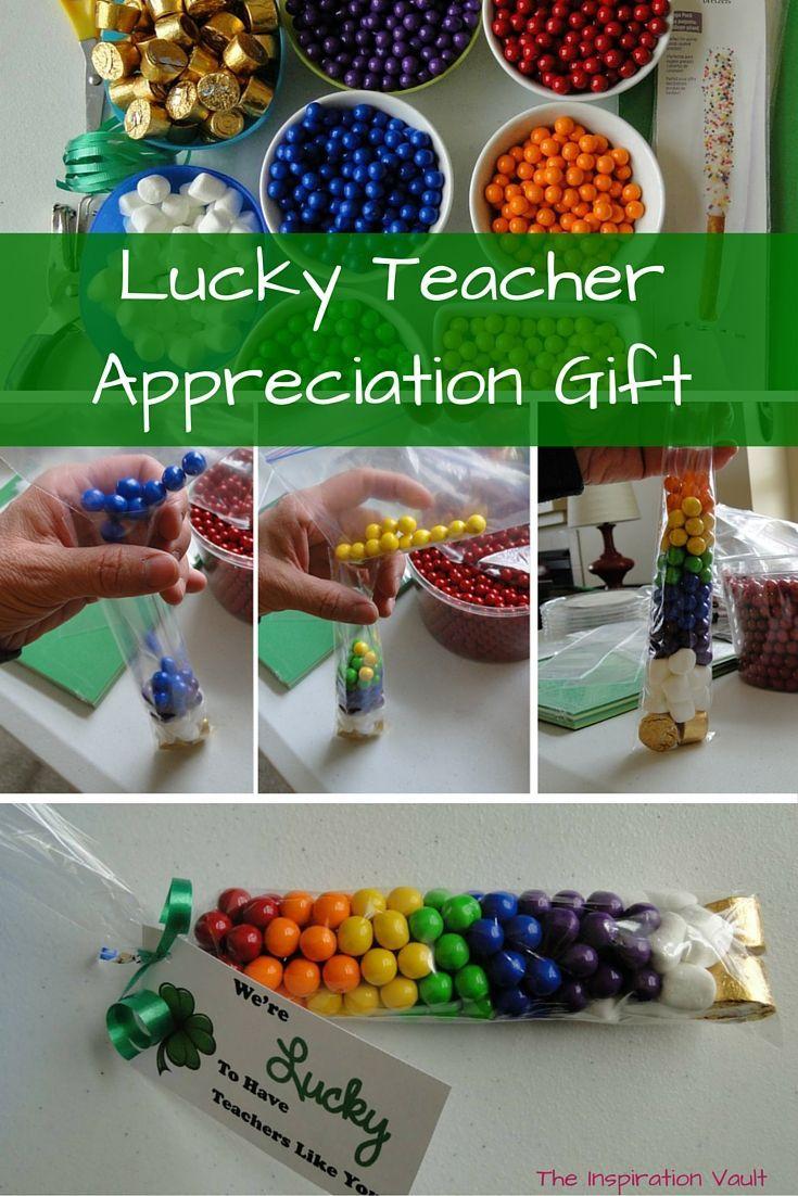 Lucky teacher appreciation gift teacher appreciation