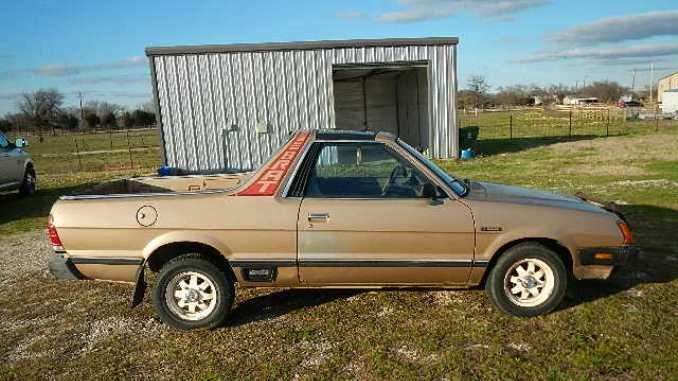 1983 Rebuilt Manual In Argyle Tx In 2020 Subaru Fuel Delivery Jump Seats
