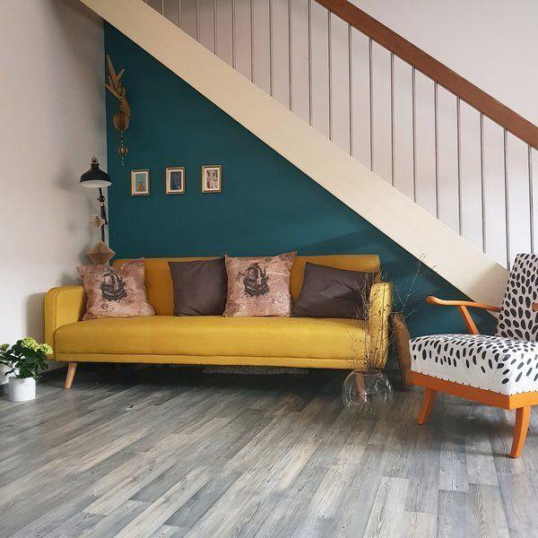 Für Mehr Farbe In Der Wohnung: Blaue, Grüne Und Gelbe