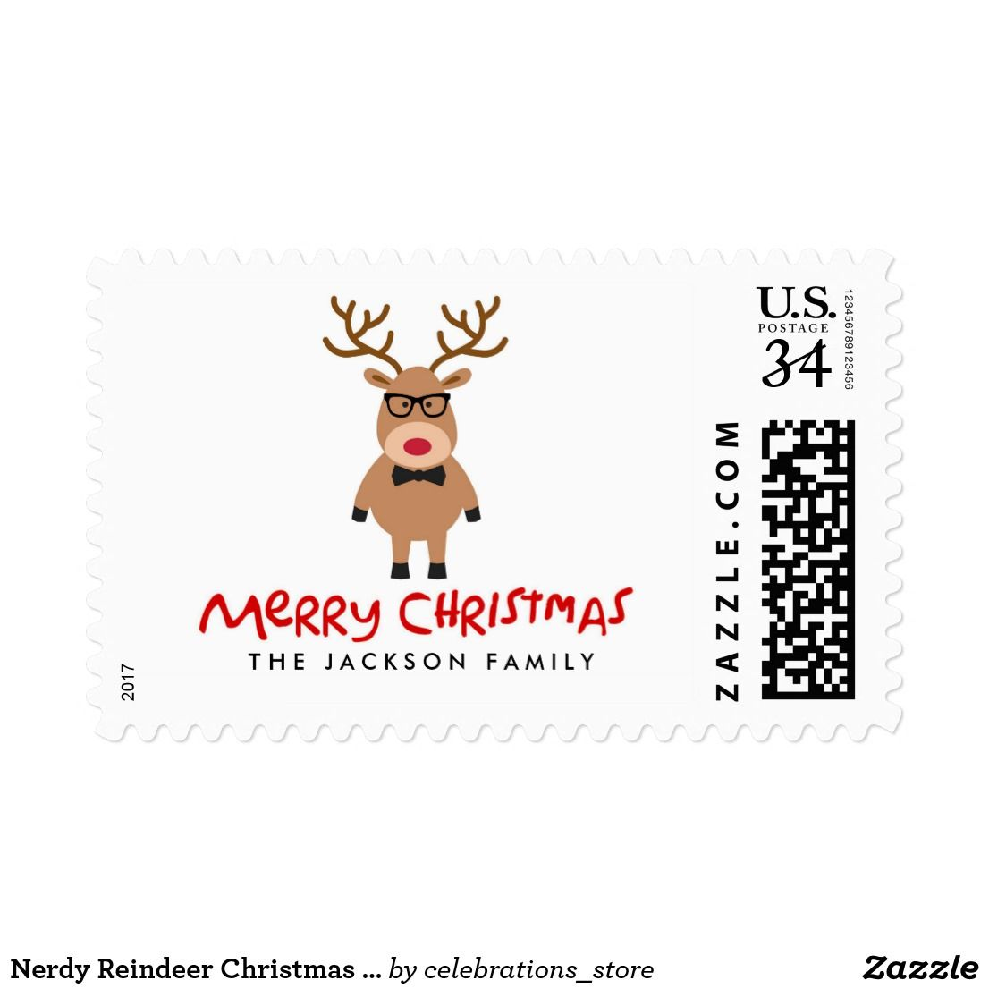 Pin by Holiday Cards for Business on Holiday Christmas Stamps ...