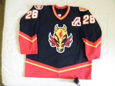 low priced 3ebe1 a3664 Koho-Authentic-Vintage-Calgary-Flames-Robyn-Regehr-third ...