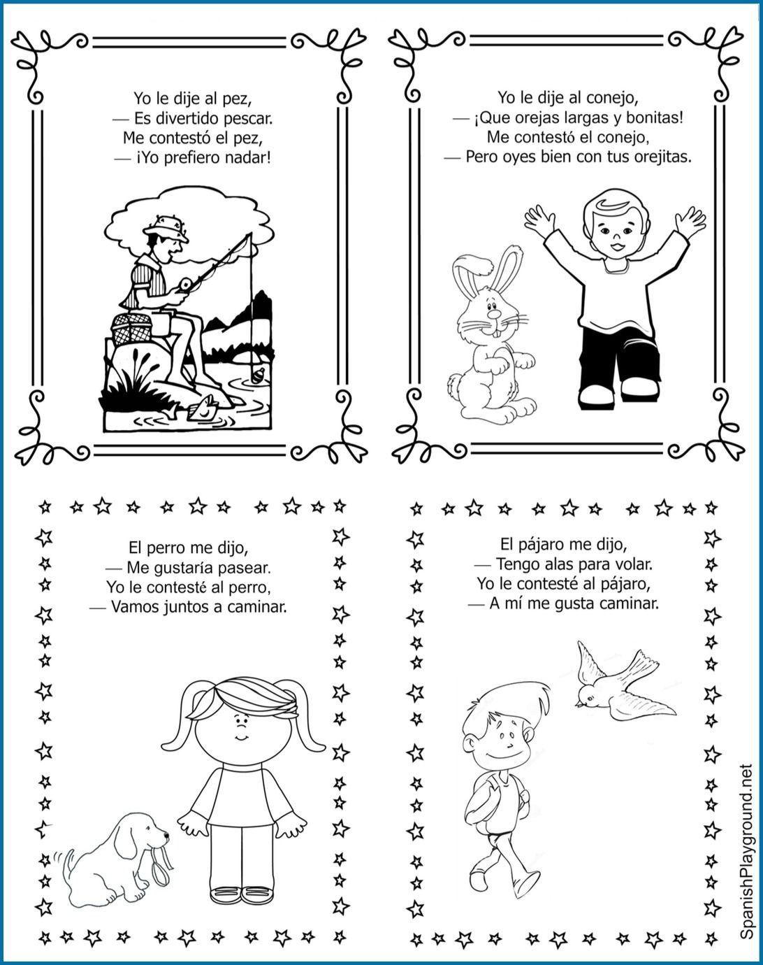 Poem In Your Pocket Spanish Printable