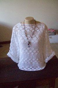 Blusas De Croche Com Graficos Passo A Passo Gratis Pesquisa
