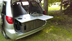 Kit Camper Conversion Mini Van Economique Westfalia Classe B
