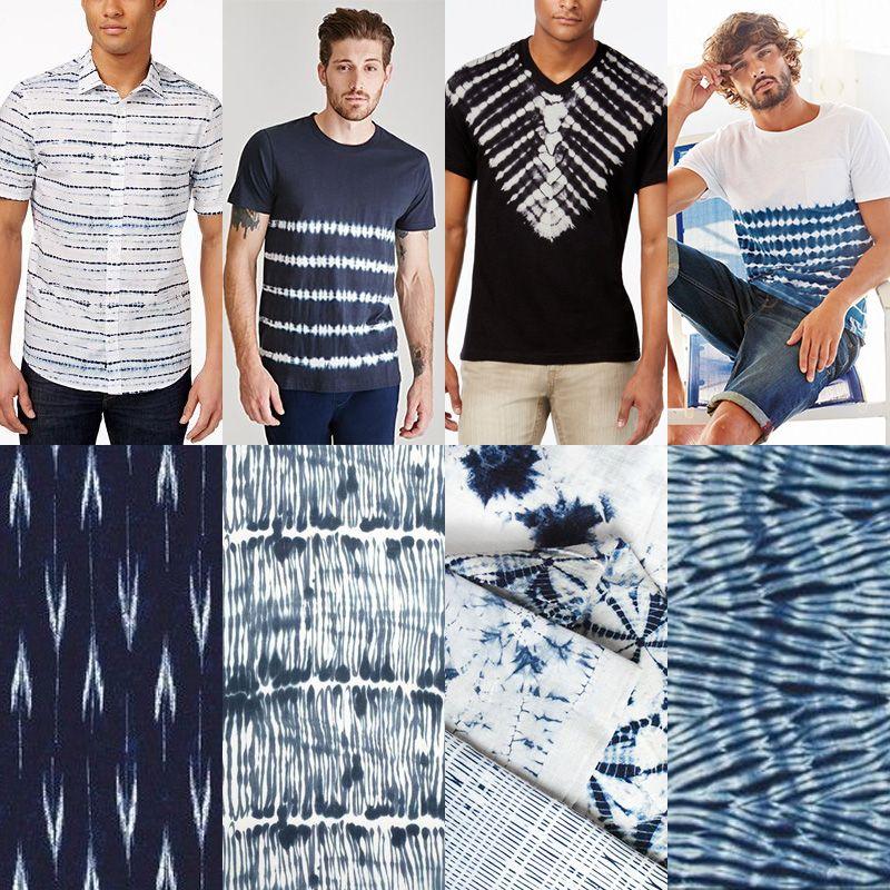 Men's Shibori Fashion