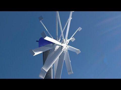 Ultra Low Wind Speed Hawt Turbine Blade Youtube Wind Wind Turbine Turbine