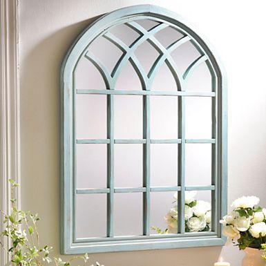 Sadie Black Arch Wall Mirror | Arch mirror, Window wall ... on Floor Mirrors Decorative Kirklands id=55752