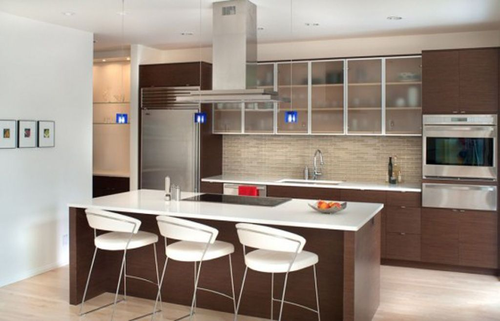 Photo Modern Minimalist Kitchen Design Modern White Contemporary Extraordinary Designs For A Small Kitchen Inspiration