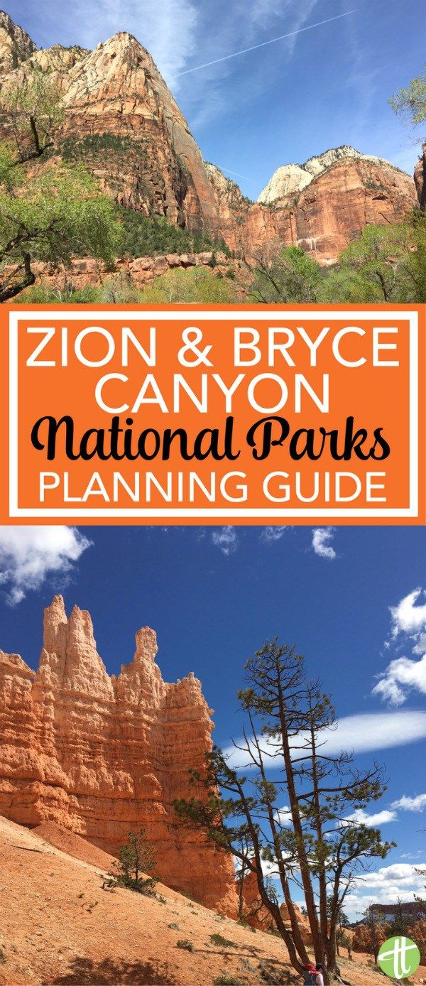 Planning A Trip To Bryce Canyon And Zion National Parks National