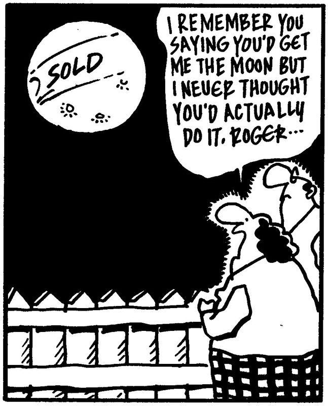 Funny Friday's TGIFF-I'll Buy you the Moon