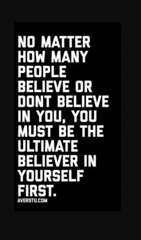 7 Believing In Yourself Quotes