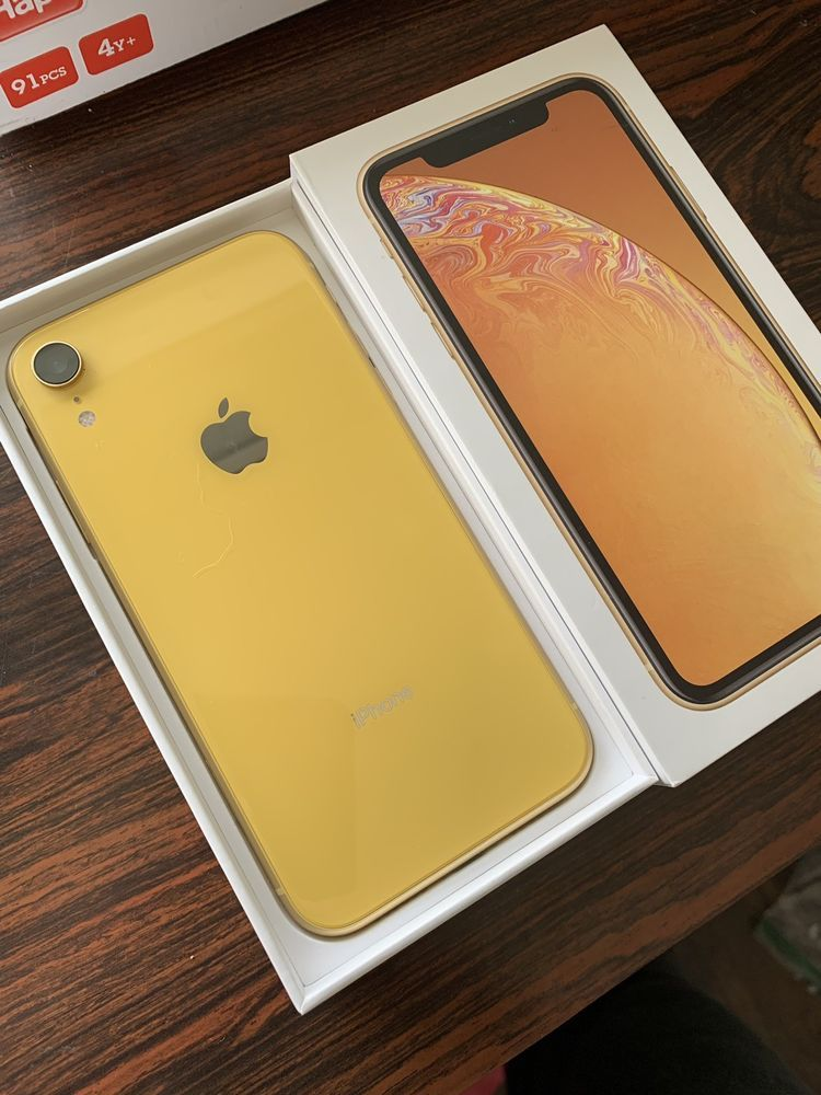 Apple Iphone Xr 128gb Yellow Verizon A1984 Cdma Gsm Apple Iphone Apple Phone Iphone