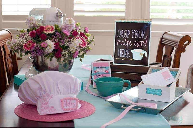 cooking theme bridal shower bridalwedding shower party ideas photo 5 of 18 catch my party