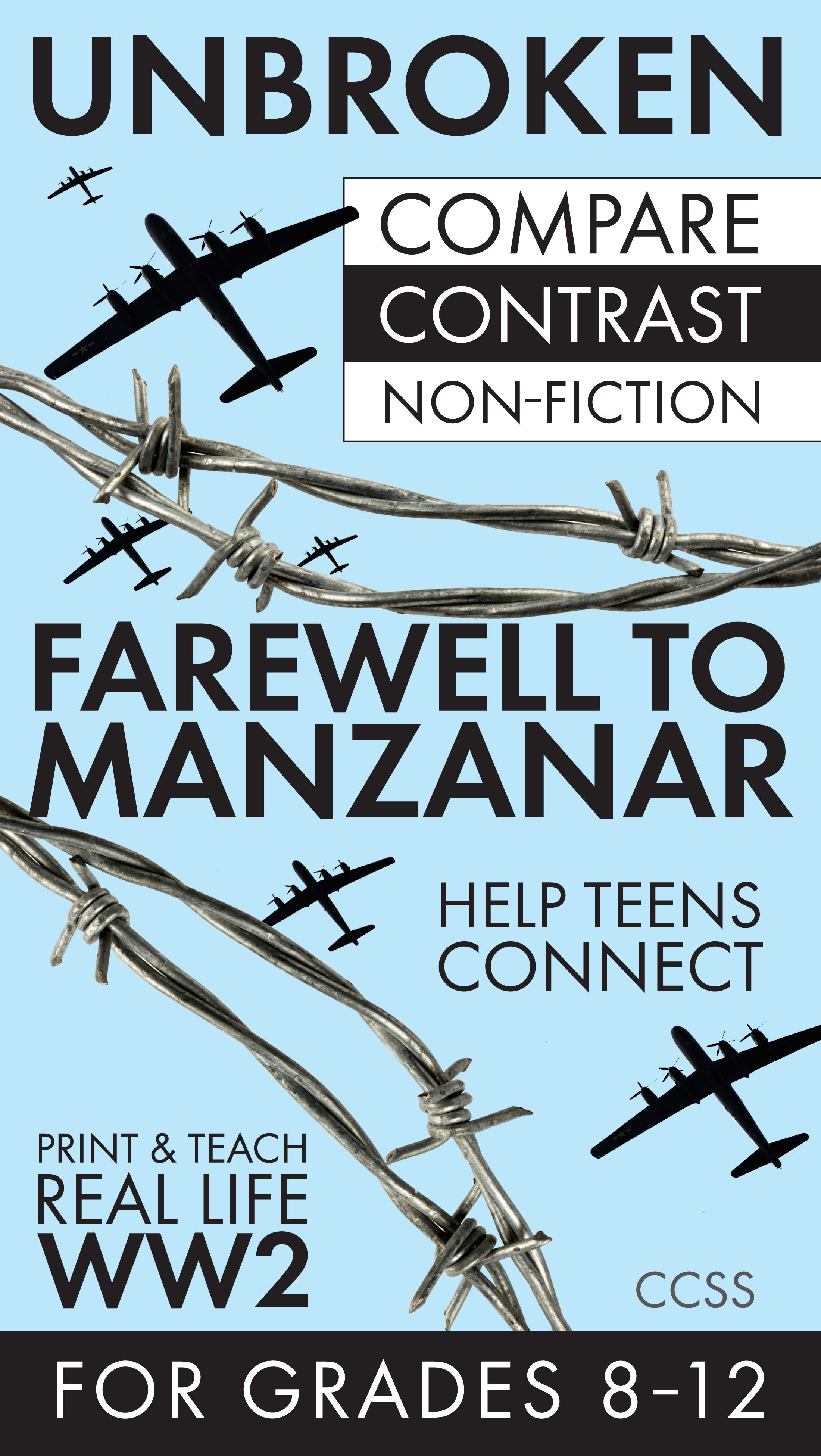 Worksheets Farewell To Manzanar Worksheets unbroken farewell to manzanar compare contrast non fiction with this two day lesson featuring a and of gripping stories from world war ii manz