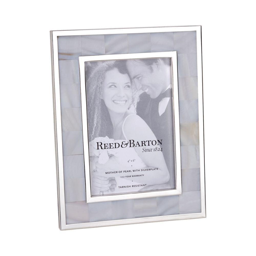 reed barton mother of pearl frame