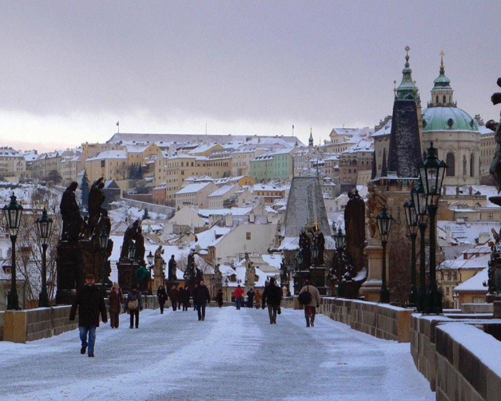 Prague In December Traveling To Europe