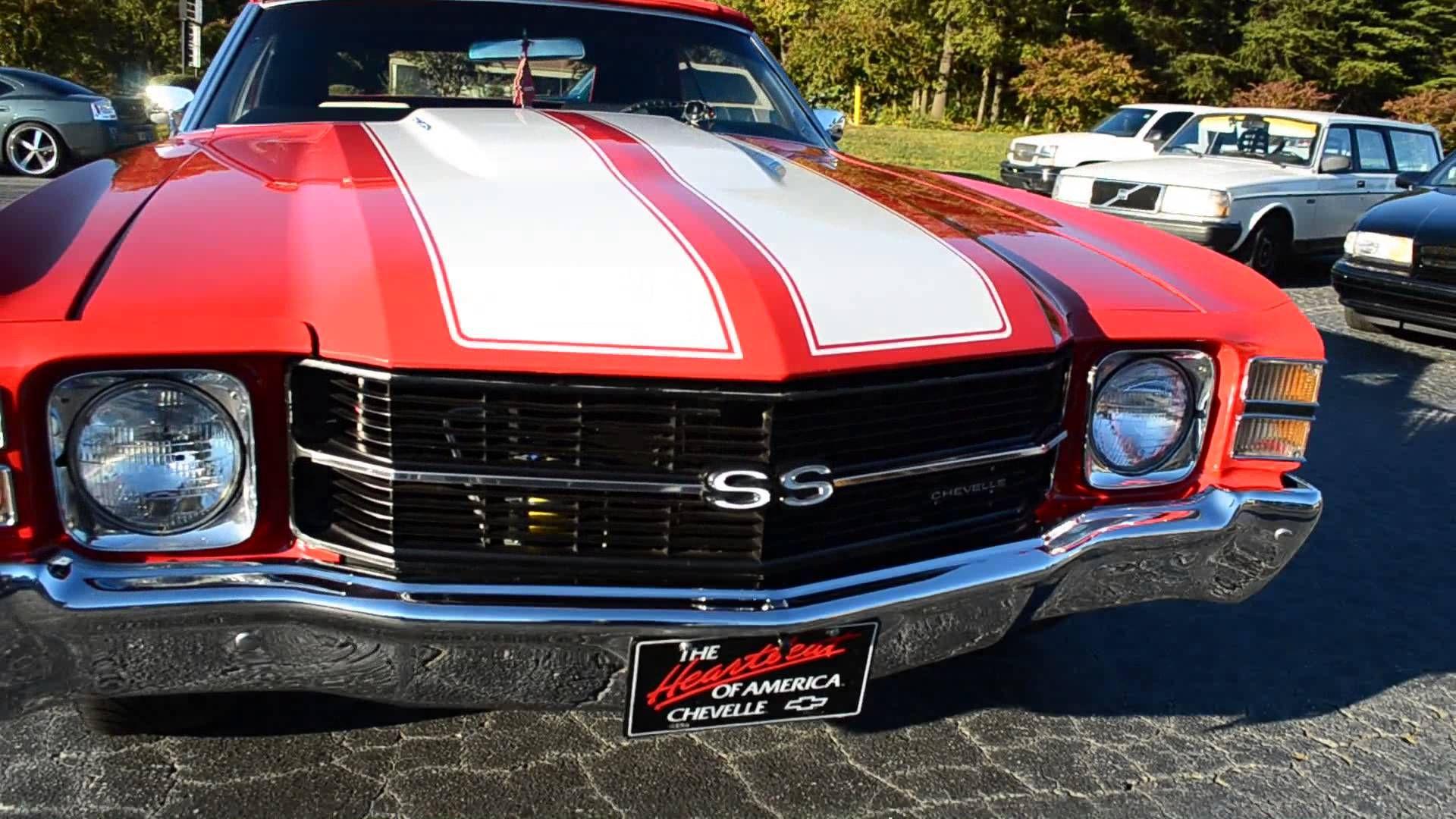 video - Old Skool Car Club\'s Red Chevelle. 71 asanti wheels 22 ...