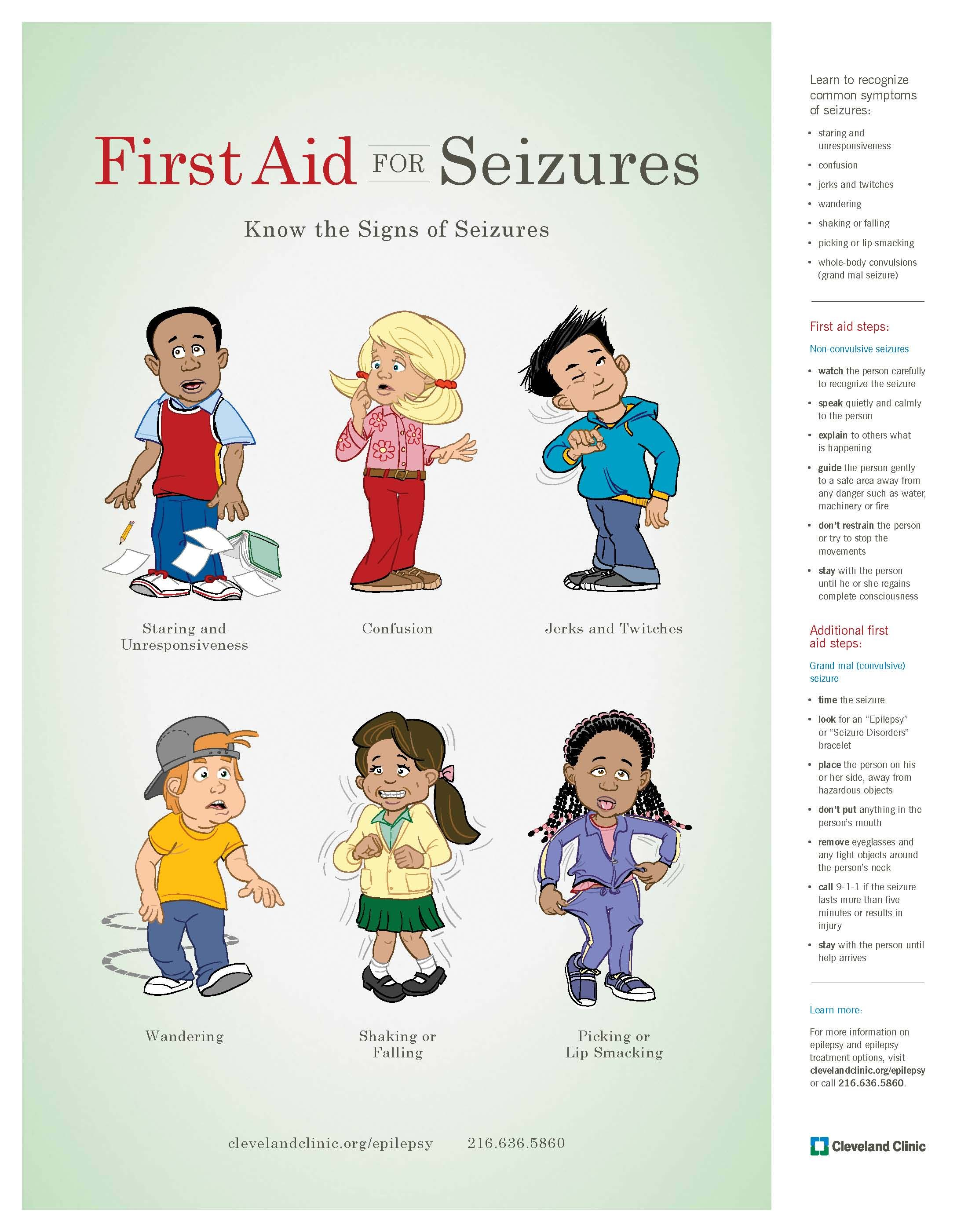First Aid for Seizures :: Learn to recognize common ...
