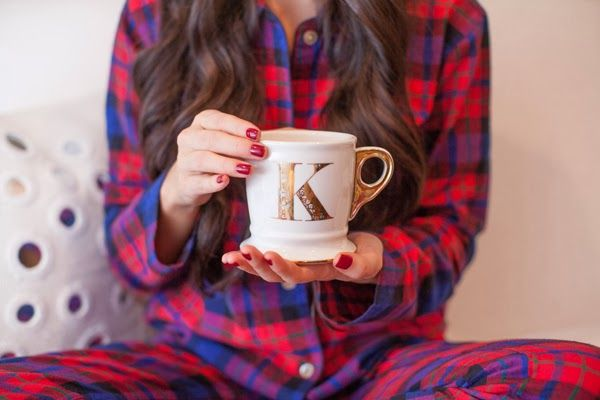 awesome pajama !!! Spend a stylish Christmas at home with blogger Kat Tanita