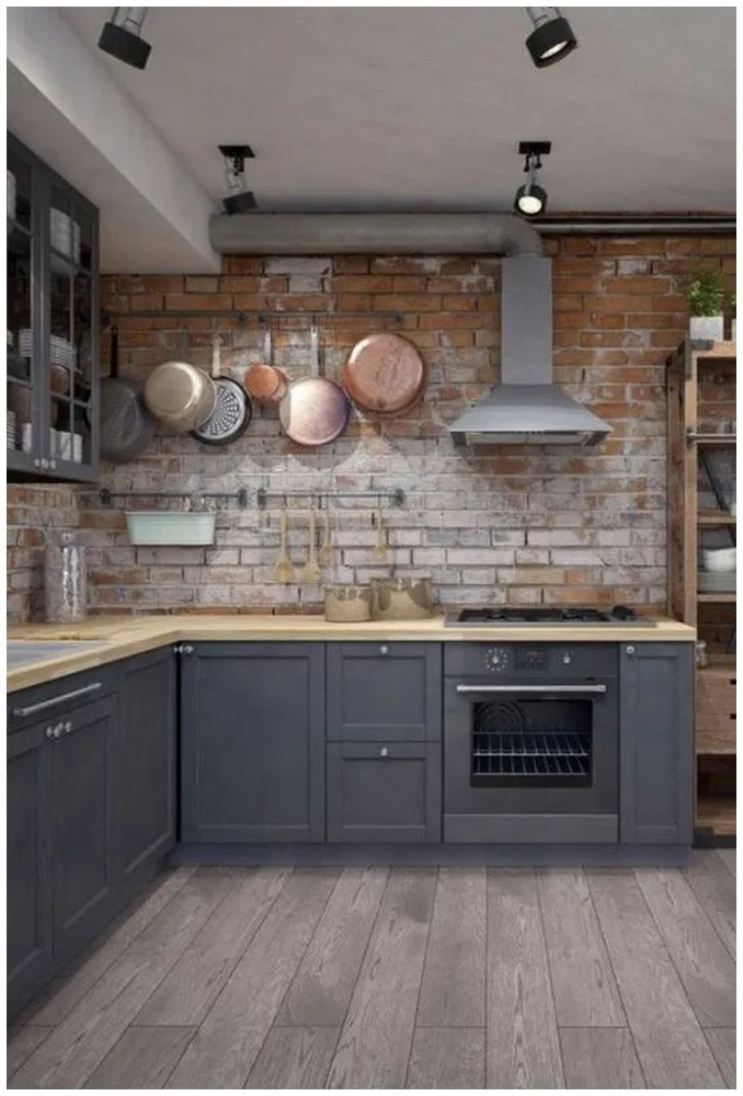 25 Cool Industrial Style Kitchen Ideas To Get Unique Look Kitchen Industrialstyle Industr Industrial Style Kitchen Industrial Kitchen Design Kitchen Design