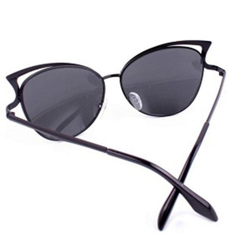c4d70997f8a Cat eye colorful plastic women fashion cat ear sunglasses metal frame  sunglasses brand classic tone mirror