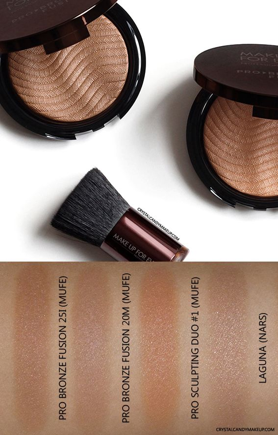 Make Up For Ever Pro Bronze Fusion bronzers - review and ...