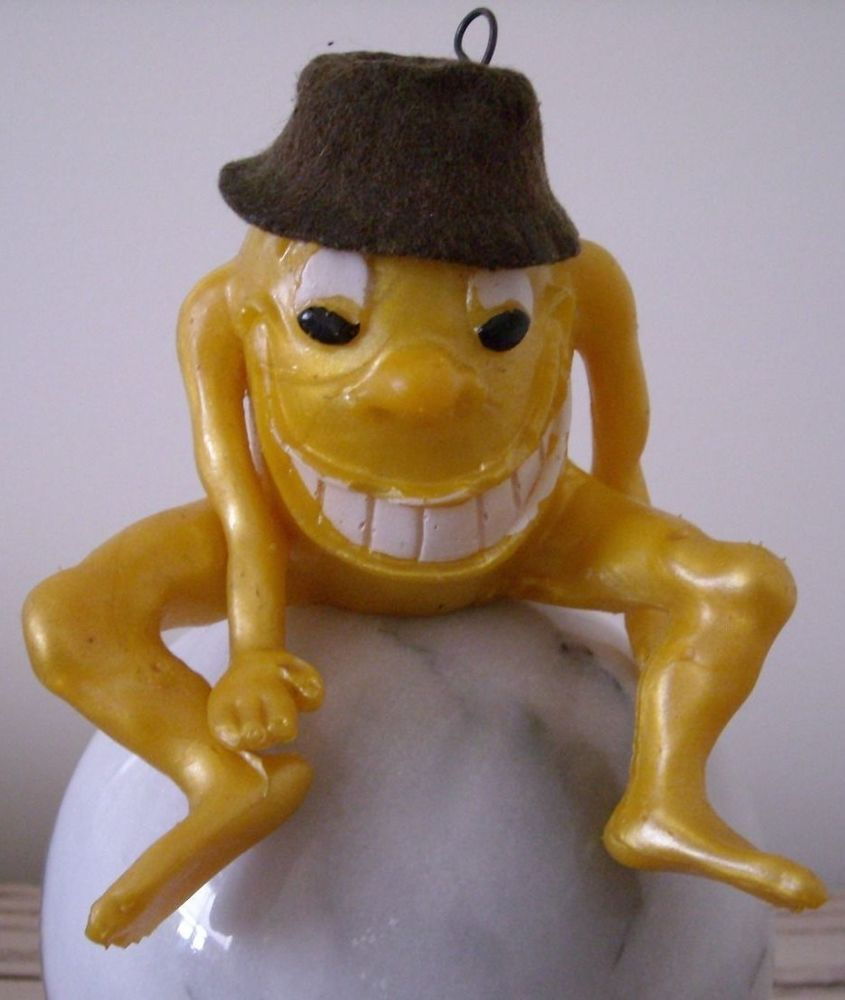 Vintage 1960\'s russ berrie yellow bupkis oily rubber jiggler toy ...