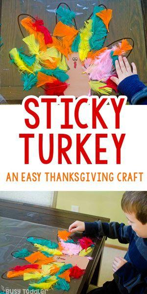 Easy Kids Thanksgiving Craft
