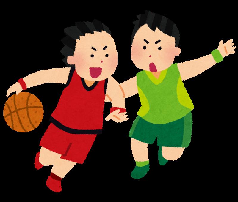 男子バスケットボールのイラスト 男子バスケットボール 無料 イラスト かわいい イラスト