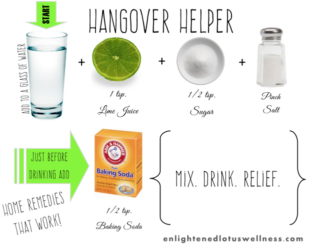 How To Get Rid Of A Hangover Headache Naturally