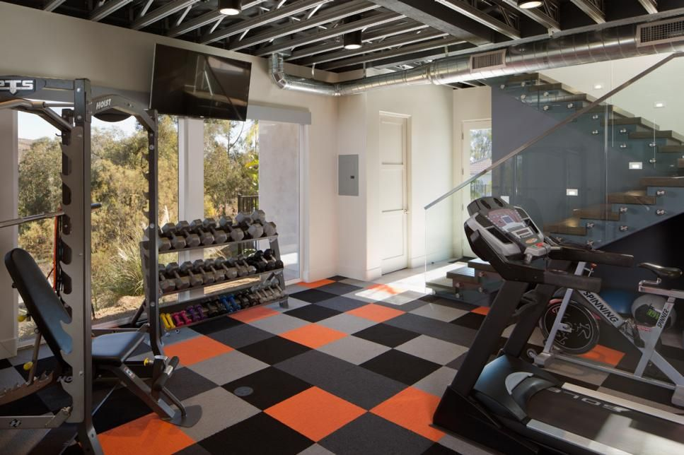Fascinating Home Gym Design Ideas To Get You Rolling Interior Design Explained Home Gym Design Indoor Basketball Court Indoor Basketball