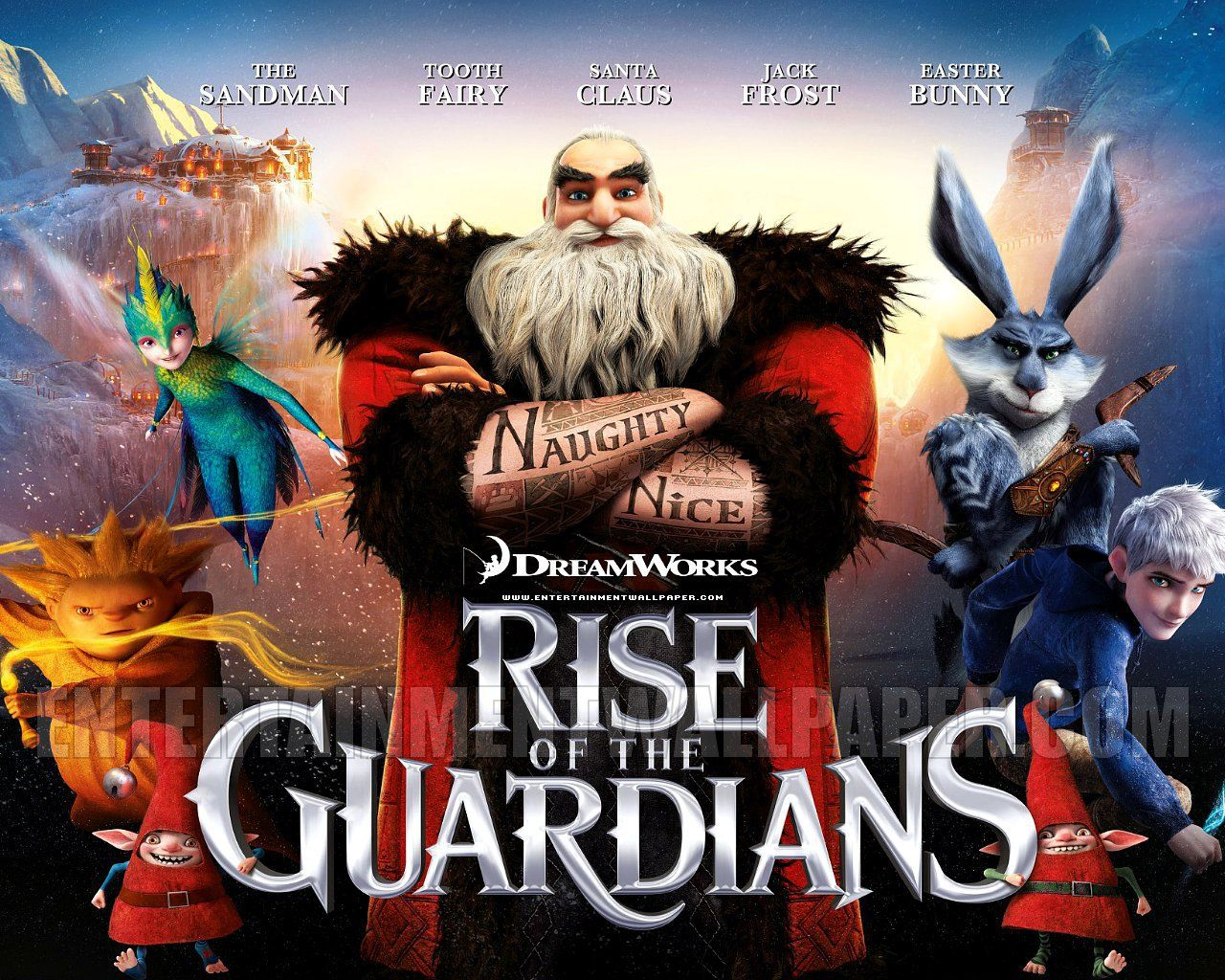 Rise Of The Guardians Wallpaper The Guardian Movie Rise Of The Guardians Movie Wallpapers