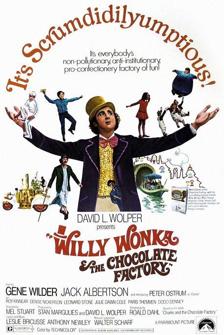 Scrumdidlyumptious Kids Movies Classic Movie Posters Vintage