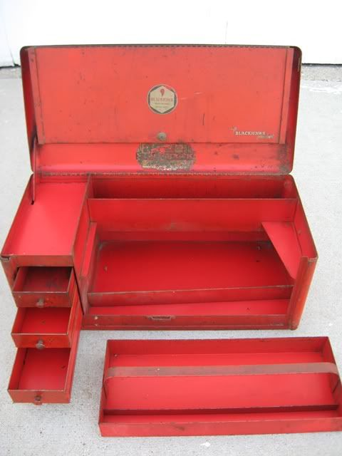 Blackhawk Tool Box : blackhawk, Vintage, Black, Thread, Black,, Tools