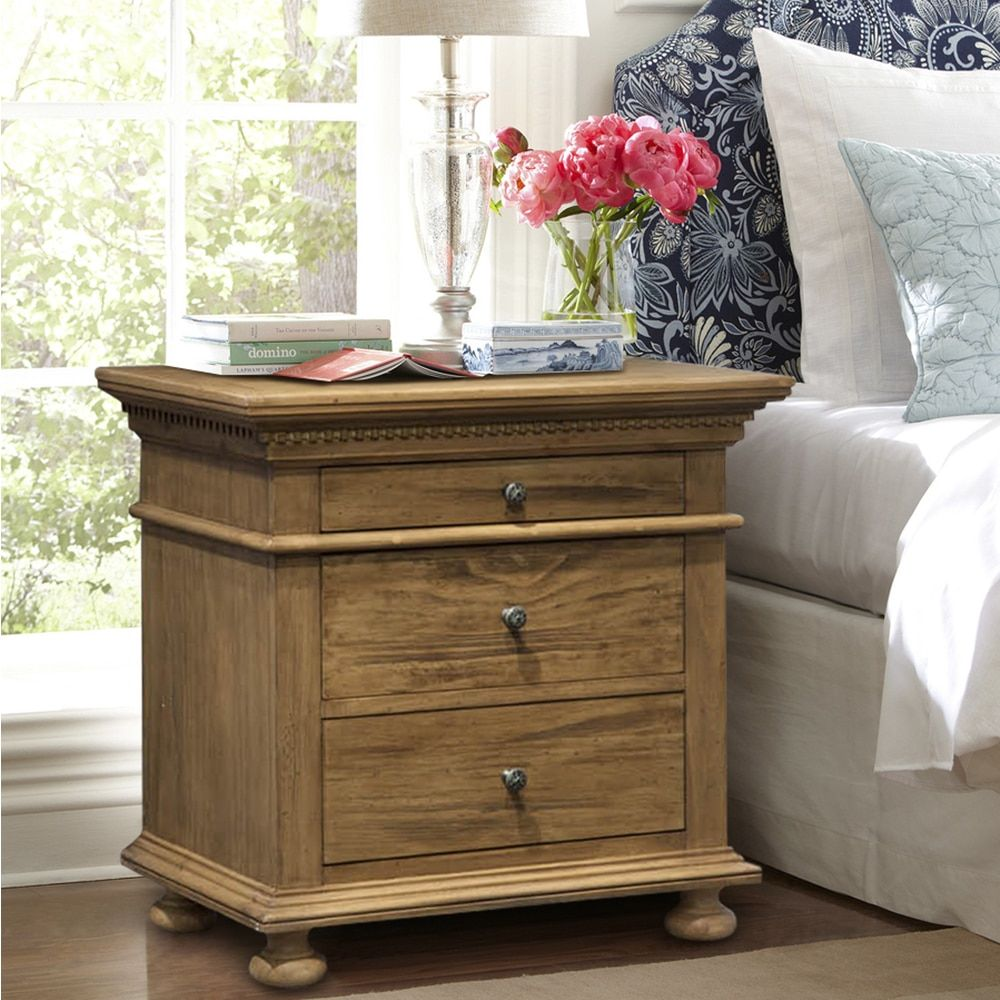 Addington Hill 3 Drawer Night Stand - Free Shipping Today - Overstock.com - 18468648 - Mobile
