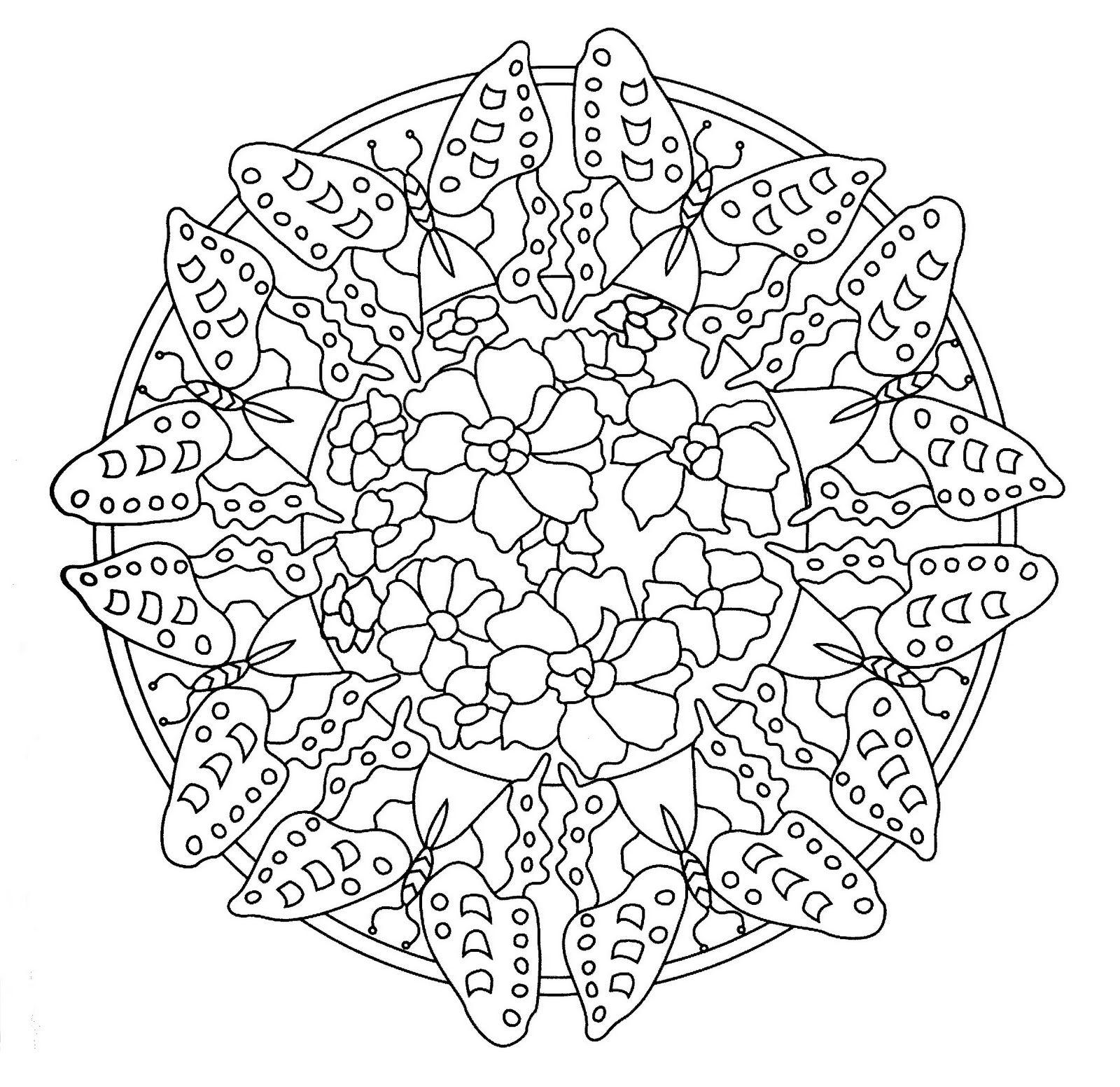 Mandalas Para Pintar: Mandala Art Nouveau | Mandalas | Pinterest ...