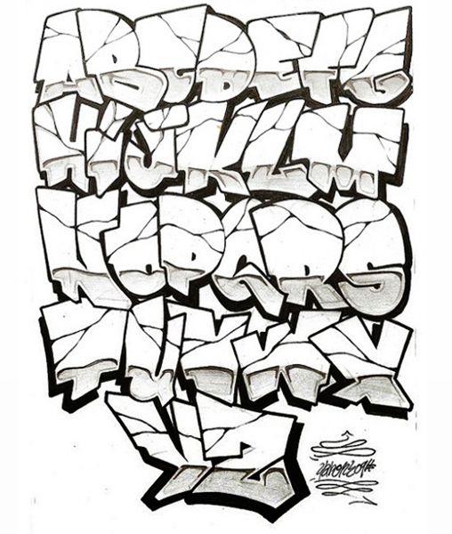 Old School Graffiti Font Style New Graffiti 3d Wallpaper Fonts