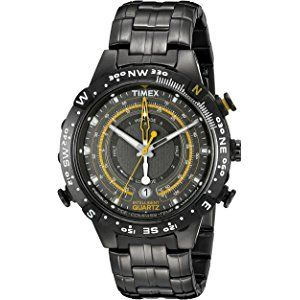 timex men s t2p139 grey stainless steel intelligent quartz tide timex men s t2p139 grey stainless steel intelligent quartz tide temperature compass watch