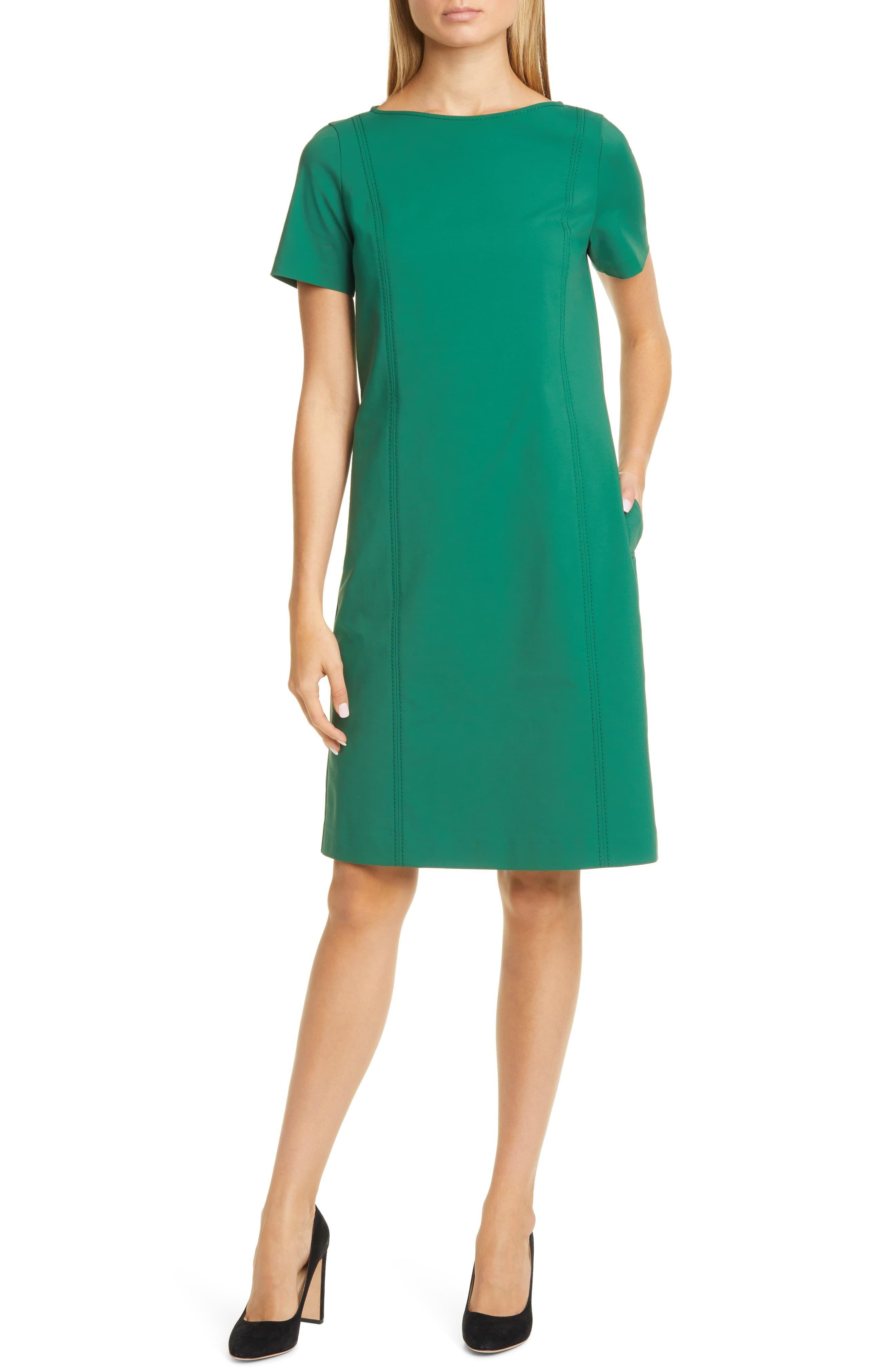 Lafayette 148 New York Easton Shift Dress Nordstrom Short Sleeve Shift Dress Shift Dress Fashion Clothes Women [ 4048 x 2640 Pixel ]
