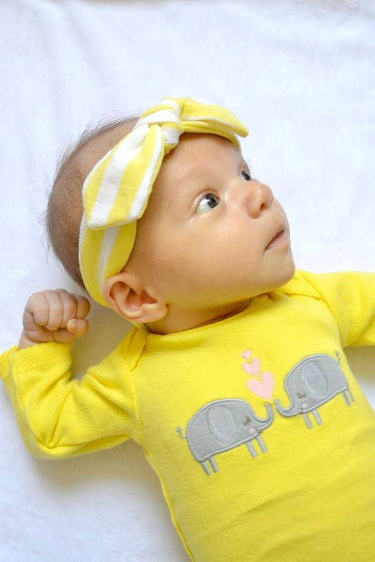 Knotted Headband Tutorial #babyheadbandtutorial