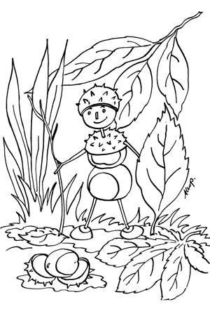 Malowanki Dla Dzieci Jesien