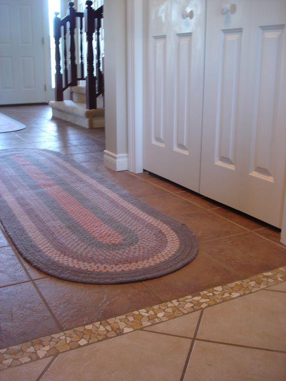 14 Simple tiled floor transition strip - DigsDigs | Flooring ...