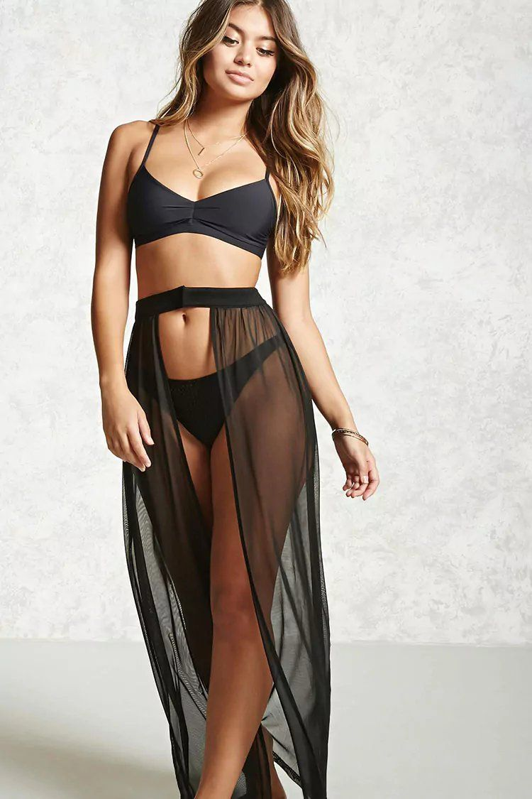 cfb7cc710e11e Product Name:Mesh Cover-Up Maxi Skirt, Category:CLEARANCE_ZERO, Price:17.9