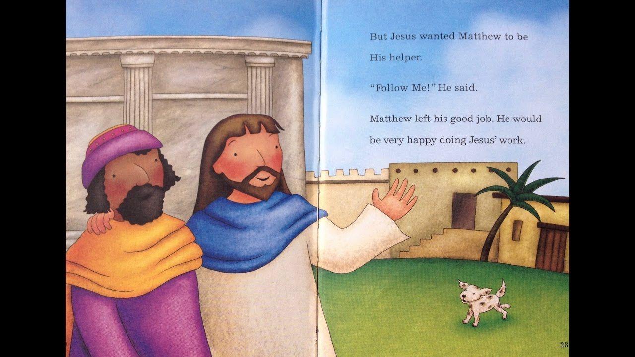 Childrens bible story jesus calls matthew toddlers 68