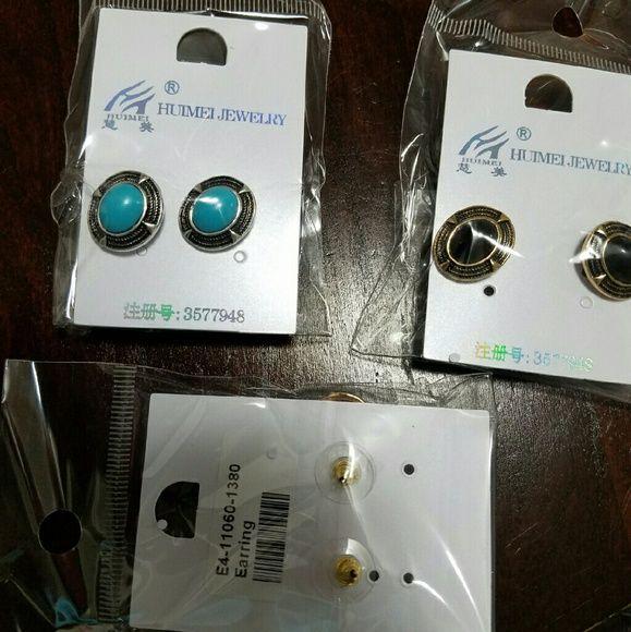 Color knobs Beautiful earrings Jewelry Earrings